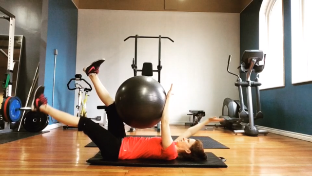 The Stability Ball Deadbug- One core exercise everyone should be doing!